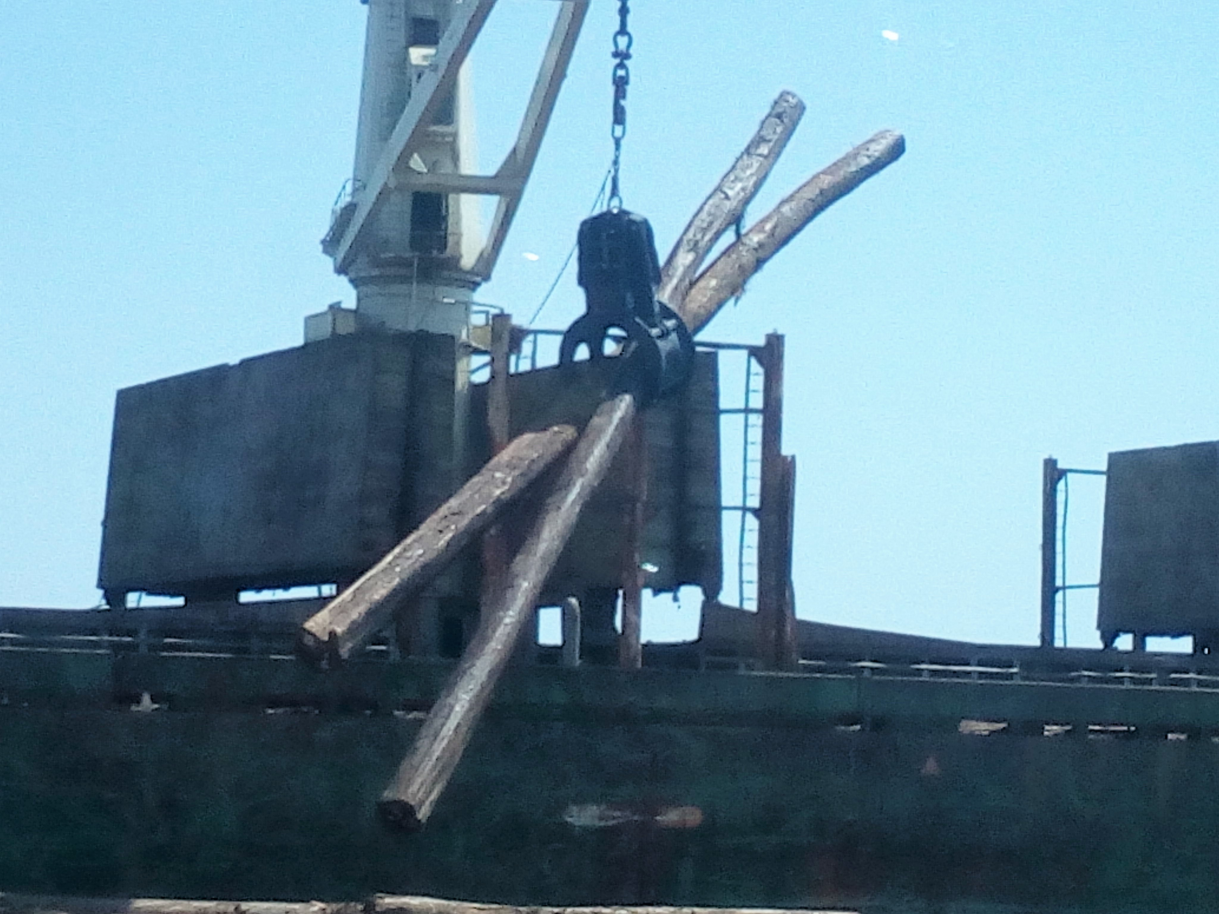 Electro-Hydraulic Timber (Log) Grabs