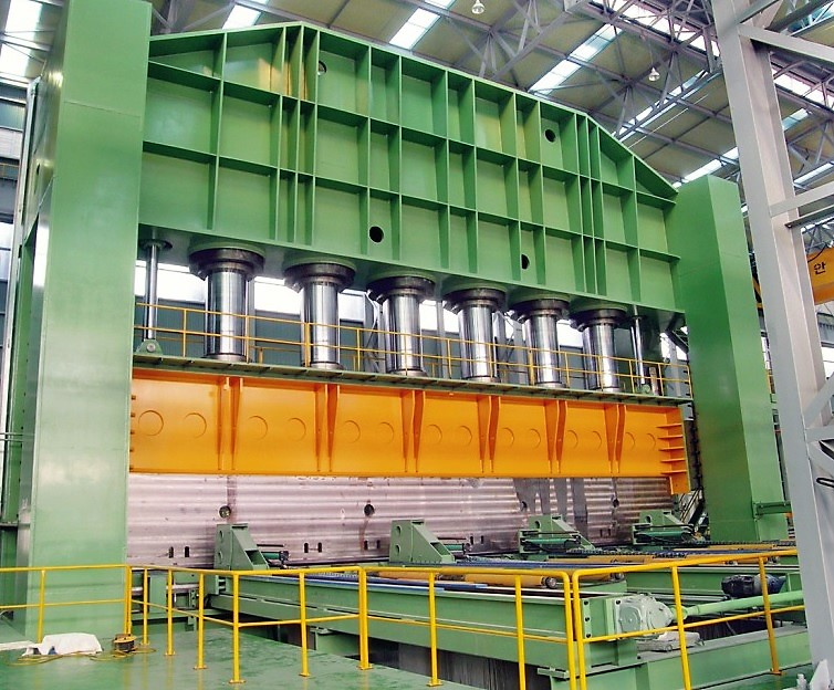 JCO Heavy Thickness Pipe Production Line with 10000 Ton Press Korean make