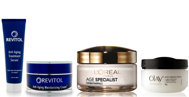 Anti Ageing Cream & Serum