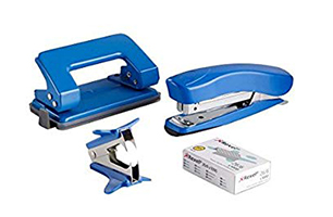 Stapler, Pins, Punch & Pin Removers