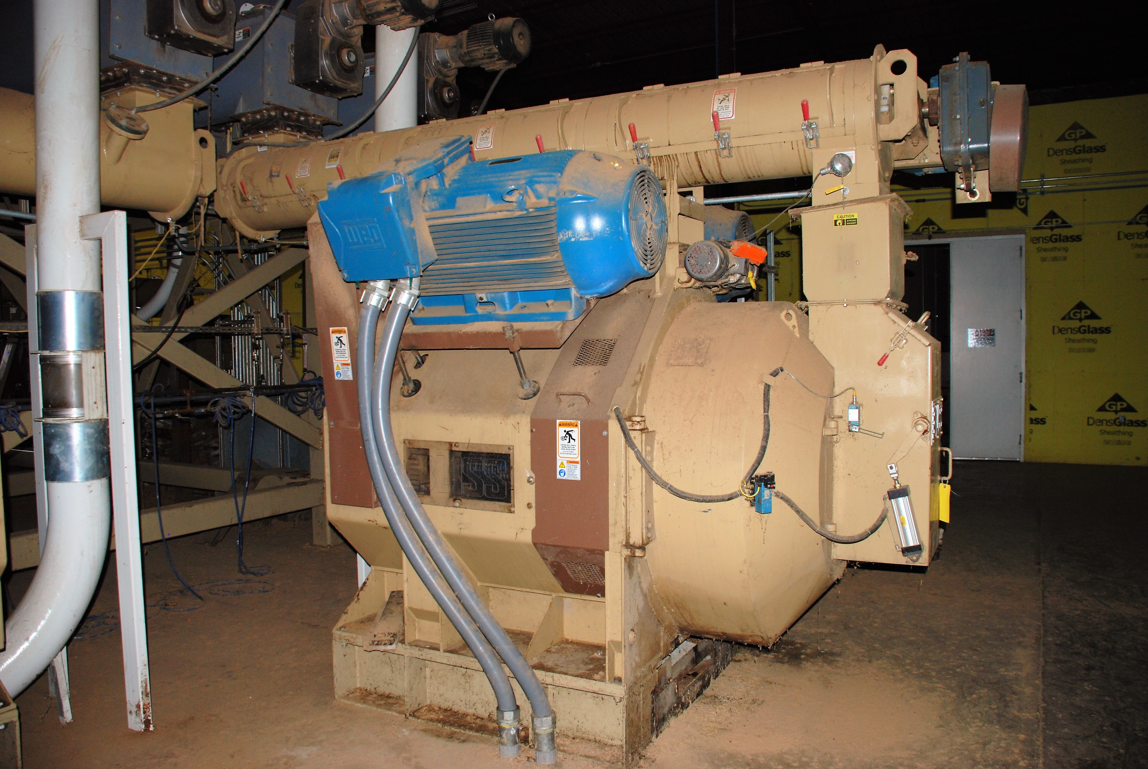 Bliss Pellet Mill for Wood - complete