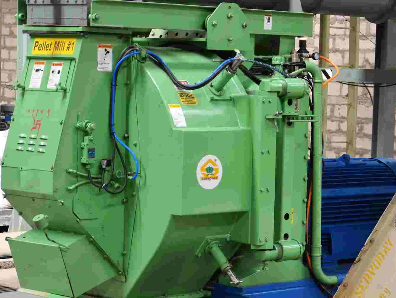 CPM 7932 Pellet Mill with 450 HP Motor