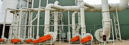 Air Aspiration System for Biomass Pellet Plant