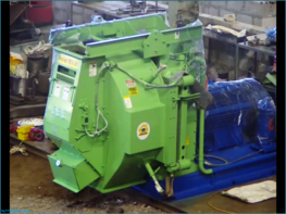 Original installation of CPM 7932 Pellet Mill with 450 HP Motor at site