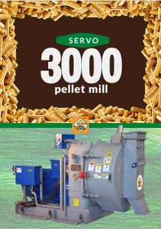 SERVO 3000 PELLET MILL