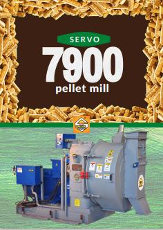 SERVO 7900 PELLET MILL