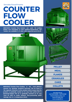 COUNTER FLOW PELLET COOLER