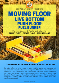 MOVING FLOOR - LIVE BOTTOM - PUSH FLOOR - FUEL BUNKER