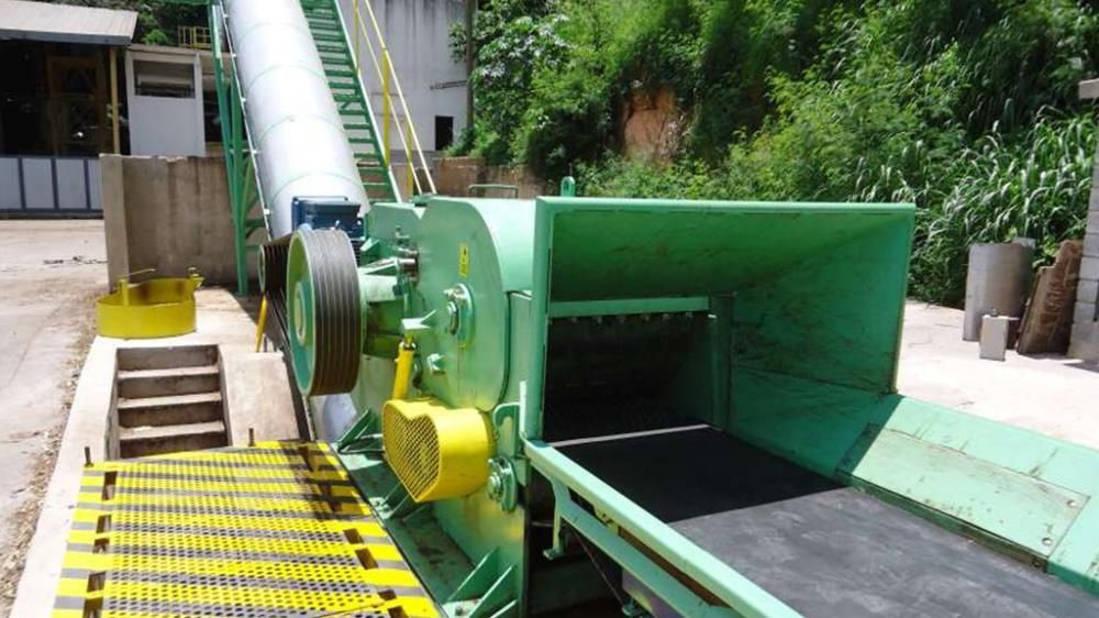 DRUM CHIPPER FOR WOOD AND BIOMASS