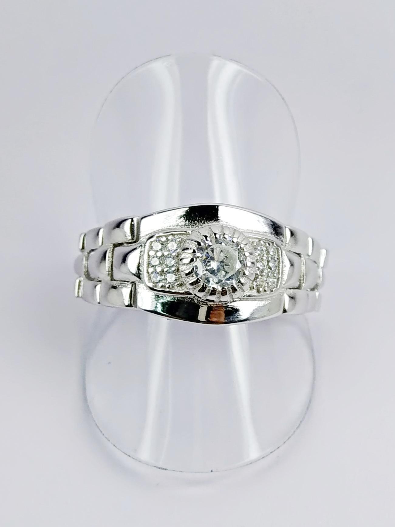 Exclusive fancy men's ring