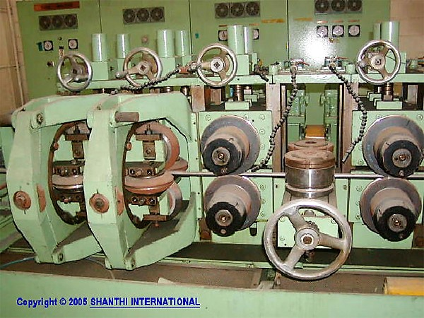 Tube Mill with Welder - Rolls for making Pipes - Zambia - Burundi - Kenya - Tanzania