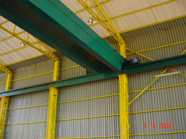 PRE FABRICATED STEEL STRUCTURE