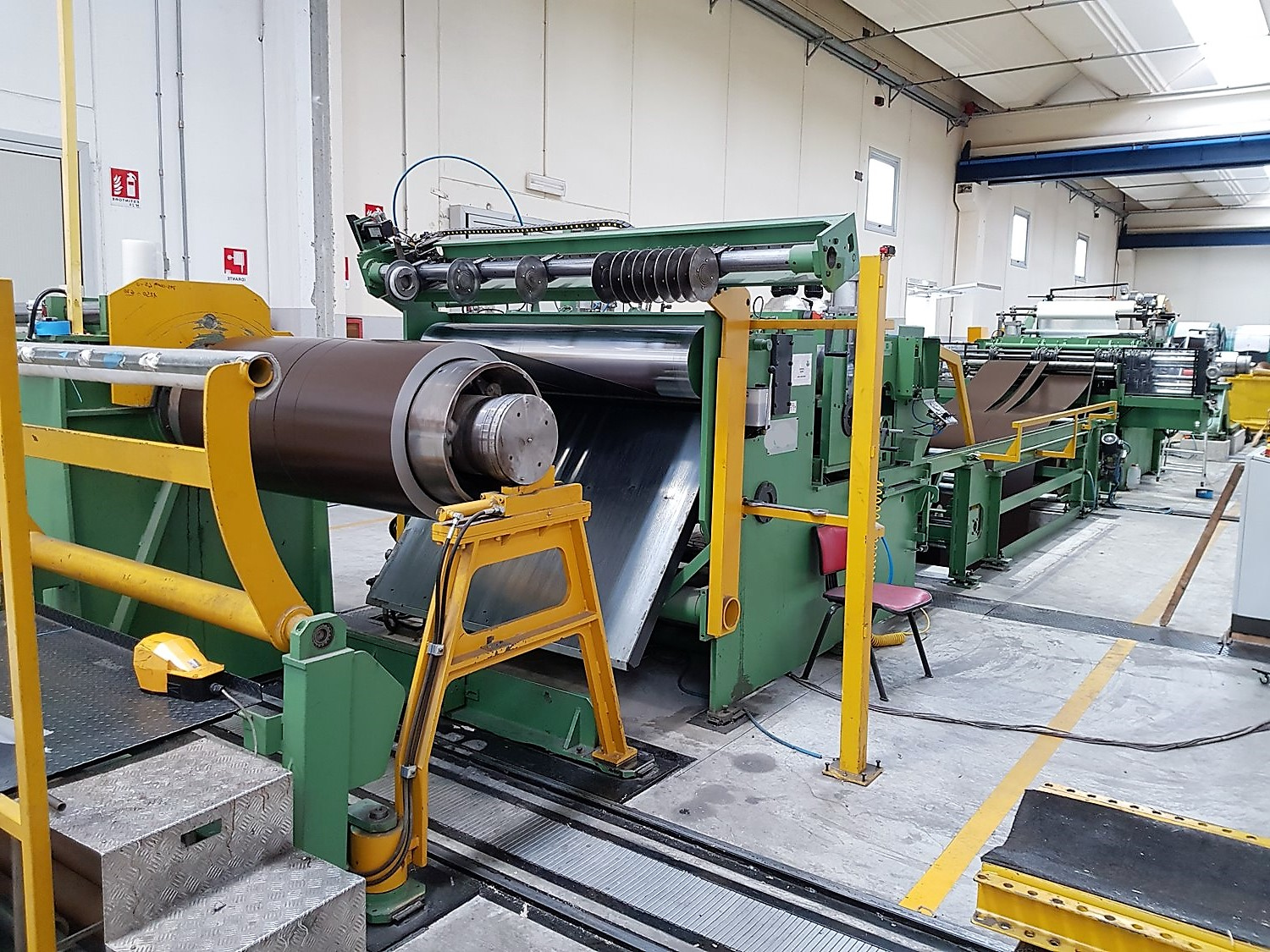 Slitting Line for HR - CR - SS