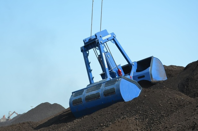 Radio Remote Control Grab - Coal Handling at Port