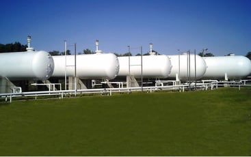 LPG Overground Storage Tank Farm