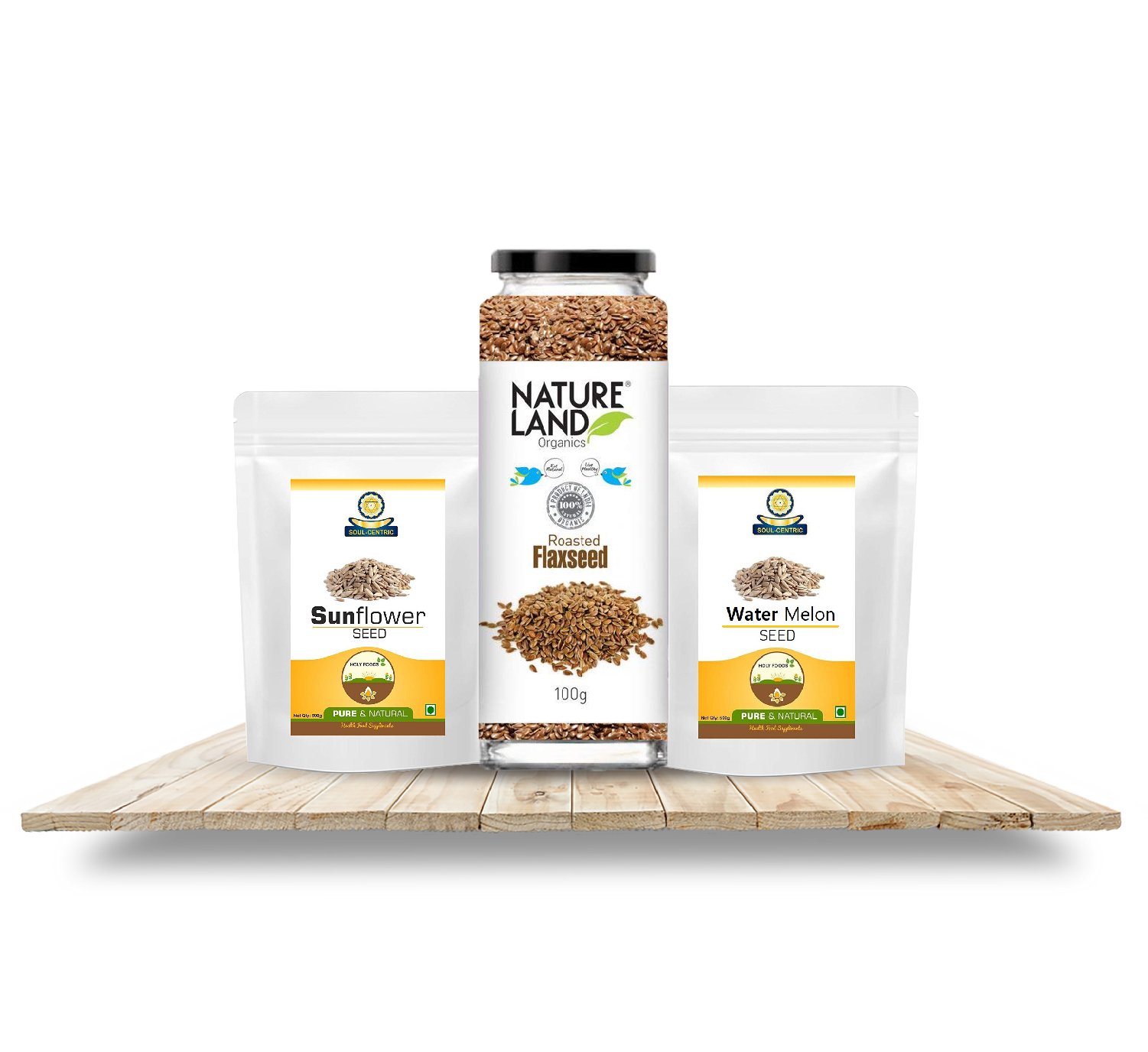 Flax seeds, Chia seeds & other Seeds