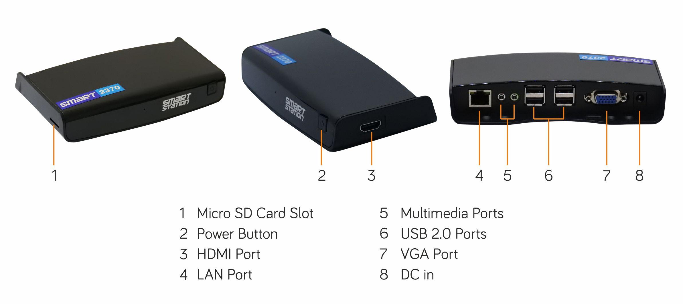 Smart 2370 connectivity