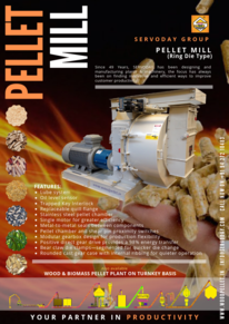 PELLET MILL FOR BIOMASS -WOOD - FEED - SAW DUST - CHIPS